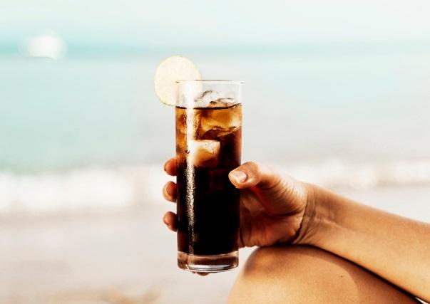 Verre de Coca cola